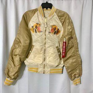 Alpha Industries Tiger Embroidered Jacket